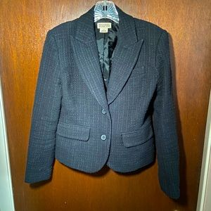 Michael Kors tweed blazer used size 4